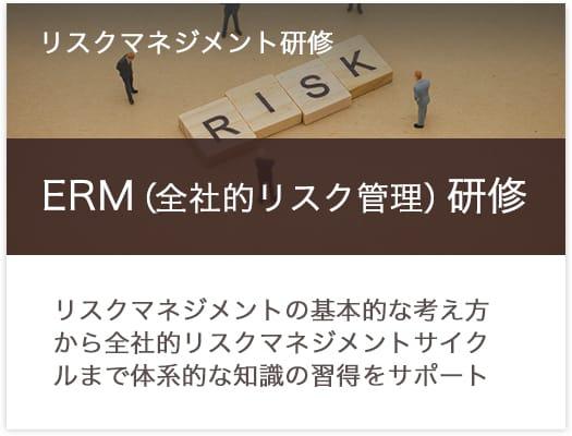 ERM(全社的リスク管理)研修サービス